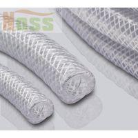 食品钢丝编织网纹透明软管 螺旋钢丝编织网纹食品软管 双重加强钢丝编织网纹透明软管 WH00972