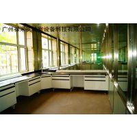石油化工实验室设备钢木中央实验台耐酸碱耐腐蚀中学实验室设备 禄米