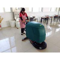 工厂地坪用多功能洗地机效果怎么样?