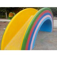 广州润乐水上设备-彩虹桥滑梯