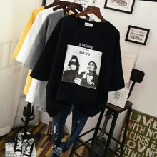 东莞服装厂家库存T恤 休闲纯棉短袖t恤 2元起低价便宜服装批发