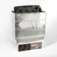 厂家直供 亚美人AMAZON AMC90 经济型 不绣钢内控桑拿炉 桑拿干蒸炉/机