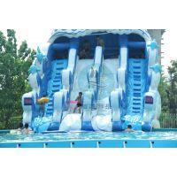 大型水上乐园 厂家直销 乐园规划设计 支架水池水滑梯 冲浪滑梯