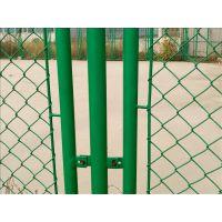 球场围栏网多少钱一米?包塑铁线球场网、体育场护栏网、润昂定制