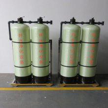 直销南宁横县华兰达厂家玻璃钢一体化净水器地下井水河水工业净水处理设备