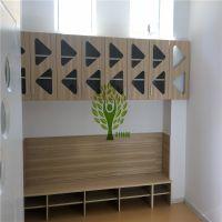 叶林同幼儿园整体衣柜,整体壁橱,整体吊柜,无醛板材生产