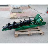 新疆硬土质打坑机 拖拉机带挖坑机栽树机