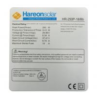 太阳能产品组件标签,规格定制