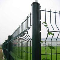 厂家供应1.2*3米桃型柱护栏 双边丝护栏网 车间隔离栅