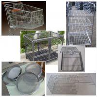 连云港亘博316L平纹编织不锈钢网生产设备焊接厂家直销