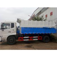 污水务局专用污泥车图片-18吨18方全封闭污泥自卸车价格