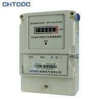 拓强电气 单相电子式电表计度器显示电表接线图