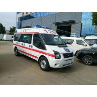 发往甘南州人民医院的福特长轴中顶救护车成功交付