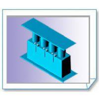 管夹型管托 管夹式管托 不锈钢管托 滑动支架 管道滑动支架 水平管道滑动支架 滚动支架