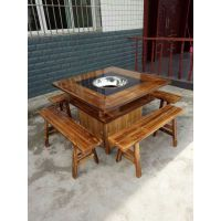 临朐鑫兴 DL-3523韩式高档实木餐桌 价格低 售后服务好 发货快+买一送桌芯活动