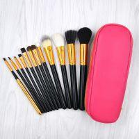 kainuoa/凯诺工厂批发12支拉链包化妆刷 刷包美妆工具套装