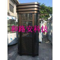 深圳定制一个钢结构保安岗亭要多少钱,深圳不锈钢岗亭生产厂家位置