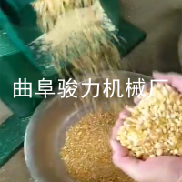 骏力厂家 批发零售无分离玉米去皮制椮机云南 新型耐用全自动谷子碾米机