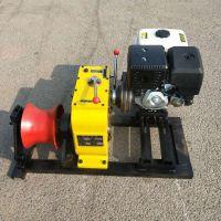 【刻发】新款柴油绞磨机8吨 机动绞磨3吨 汽油电缆牵引机雅马哈 电动卷扬机5吨