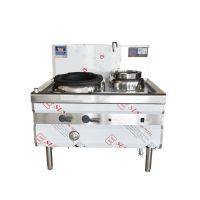 商用厨房炊事设备山西红外感应单炒单温燃气灶