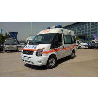 武汉福特新世代国五短轴母婴救护车生产厂家