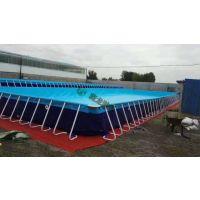 厂家直销水上乐园设备 移动式支架水池 成人儿童充气游泳池定制
