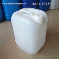 方形堆码10升塑料桶闭口方10公斤塑料桶【罐、壶】