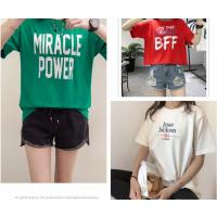 四川夏季女装短袖便宜T恤库存尾货服装纯棉T恤大量批发