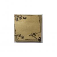 博艺印刷品-日韩创意可撕方形无封面办公便签本定做