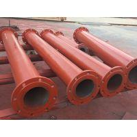 渤洋推荐碳钢陶瓷复合管带法兰管件厂家