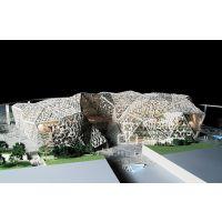 KAFD沙特阿拉伯1:100专业沙盘建筑房地产柜内***有影响力的公司