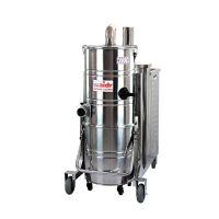 钢铁厂吸尘器吸焊渣铁屑铁粉铝屑用威德尔100L大功率不锈钢吸尘器