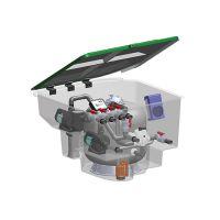 意万仕 EMAUX EMD系列地埋一体机 泳池整体过滤设备无机房