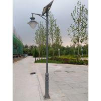 3米4米5米LED太阳能路灯户外庭院灯小区新农村公园街道防水景观灯灯谷DG-23