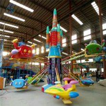 老字号厂家直销儿童游乐设备自控飞机zkfj18人安全游乐设备