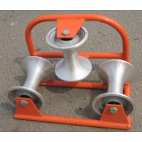 三轮转角滑车;three rollers block;DZH-60N电缆转角滑车;地面转角滑车