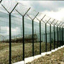 道路白色栏杆 花都景点公园铁丝网厂家直销 珠海绿化带包胶防护网