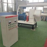 供应420全自动锯末制粒设备 铼申生物质木屑颗粒生产线