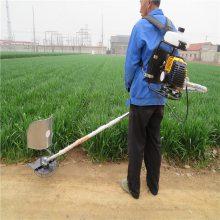 新型便携式松土除草机 果园田间背负式锄地机 润众