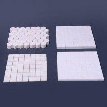 淄博新润清供应 规格 10*10*8 超耐磨 防腐蚀 92%高铝瓷片