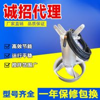 建成牌 潜水搅拌机 QJB1.5/8-400/3-740 不锈钢材质