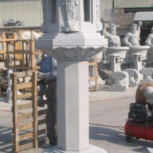 花岗岩七宝如来塔石雕样式|出食台石雕的缘起|寺庙石雕施食台|莲花柱石雕