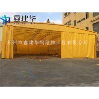 上海鑫建华户外遮阳棚伸缩式雨棚阳台雨篷 布铝合金遮雨棚折叠帐篷停车蓬