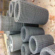 重型轧花网 黑钢轧花网 不锈钢矿筛网厂家