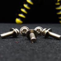 01不锈钢螺丝 GB818半圆十字盘头螺钉 圆头十字螺丝M2M2螺丝定制