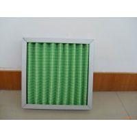 折叠式初效过滤器-启绿净化-生产厂家