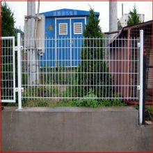 圈地铁丝护栏网价格 框架护栏网现货 河道围栏网