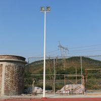 汕头户外篮球场照明灯杆安装 小区公园6-8米灯杆高度 柏克体灯具配附件