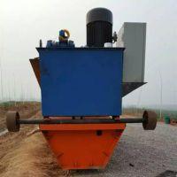 江西混凝土水渠一次性成型 汇鹏现浇式水利U型槽渠道成型机