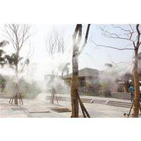 人造雾系统景区喷雾降温工程